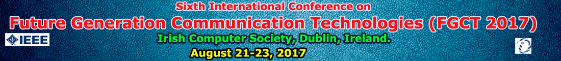 Sixth International Conference on Future Generattion Communication Technologies